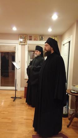 Fathers Makarije and Silouan