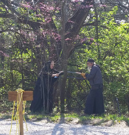Monastery spring work and Blessings abound