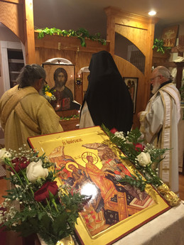 Holy Bright Week at Holy Archangel Michael Skete