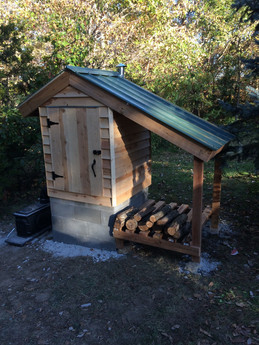 We have a Smokehouse!!