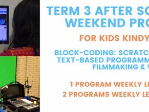 Registrations Open: Term 3 After school & weekend programs