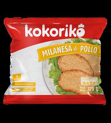 Milanesa Kokoriko (1 Bolsa /3 Und)