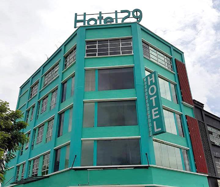 5-storey Boutique Hotel