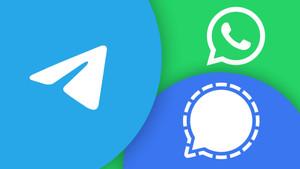 Telegram vs. Signal - Wer ist der bessere Messenger?