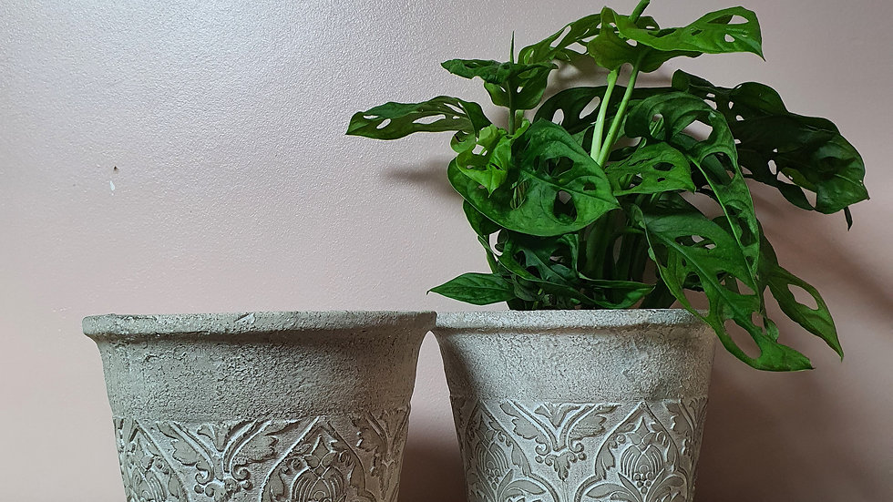 Baroque Flower Pot