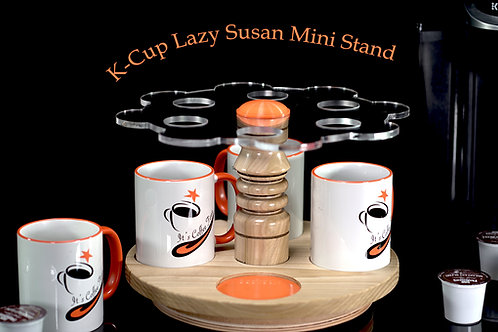 K-Cup Mini Lazy Susan Stand 5 (Includes 4 Cups) 6 K-Cup Slots