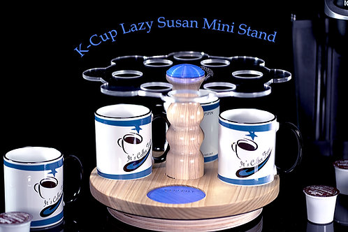 K-Cup Mini Lazy Susan Stand 2 (Includes 4 Cups) 8 K-Cup slots.