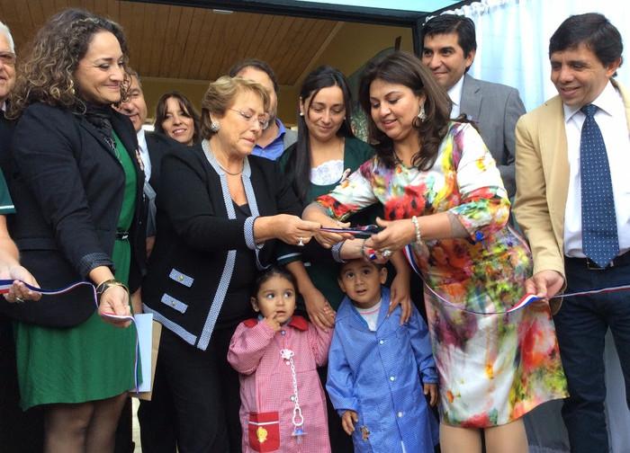 Presidenta Bachelet en Paillaco