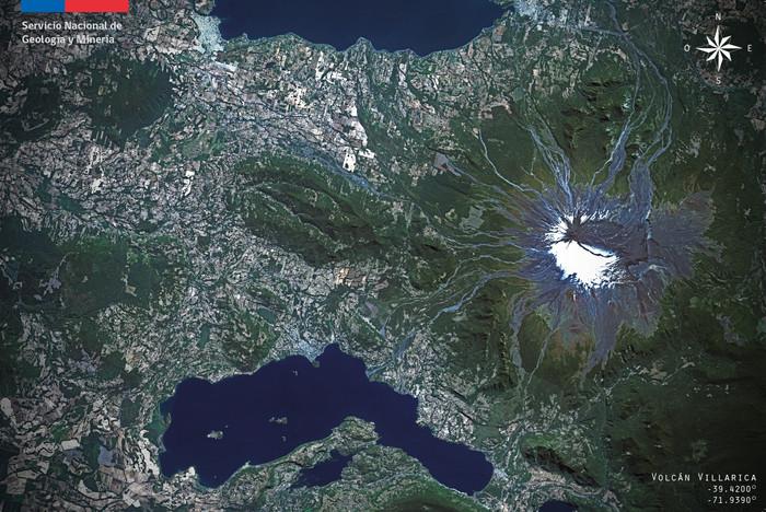 Alerta amarilla por aumento de actividad en Volcán Villarrica