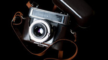 Eine total analoge Kamera die Zeiss Ikon Contessa LBE BJ: 1965