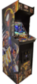 LR full size side by side arcade machine