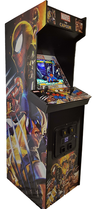 Full Size Side by Side Arcade Machine With 750 Games