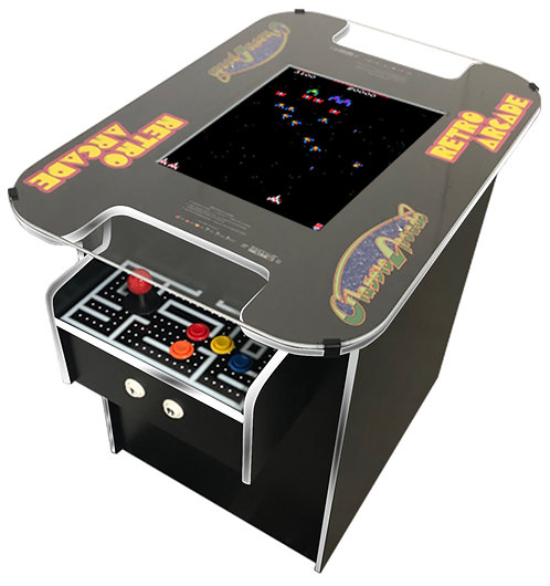 Cocktail Arcade Machine With 60 Games