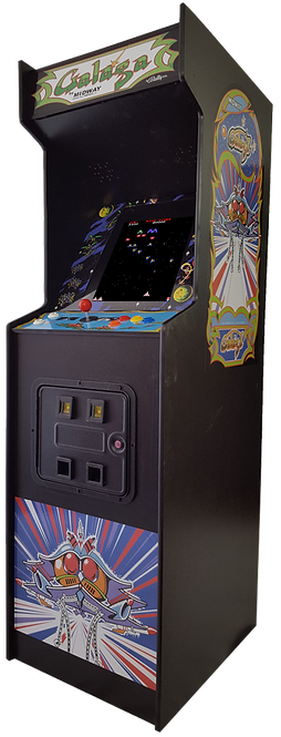 Full Size Galaga Arcade Machine With 60 Games Call for shipping quote