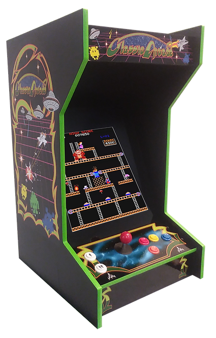 New Tabletop Arcade Machine With 412 Games And Lit Marquee