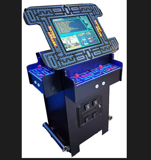 Premium 3 Sided Pub Height Cocktail Arcade Machine With 1162 Games