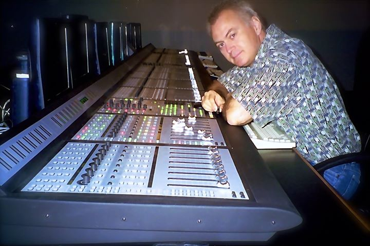The longest Pro Control in the world of its time and all Protools - New Standard Post, Hollywood - 1