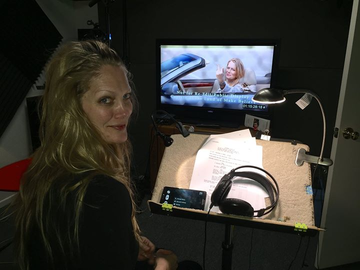 ADR Session for Captain of the Land of Make Believe directed by Domenica Scorsese