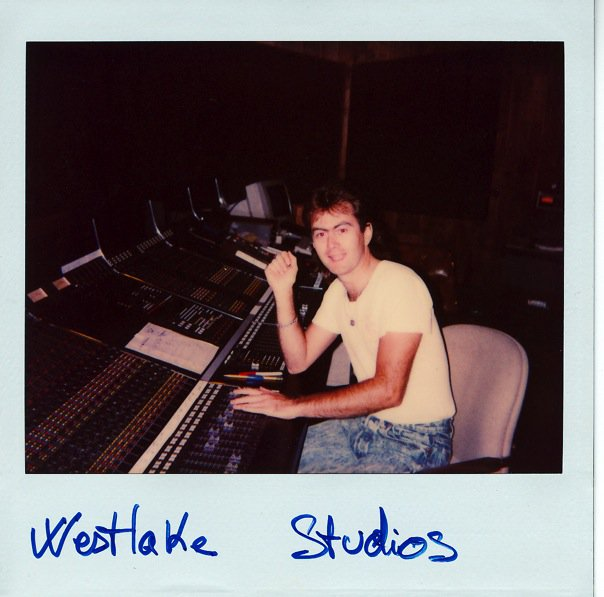 Harrison X at Westlake Studios [1988].jpg Michael Jackson recorded Thriller in this room