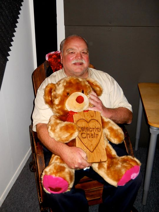Today, on the Celebrity Chair.jpg.jpg.jpg the Wonderful Richard Riehle