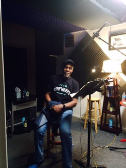 Danny Glover was at VM recording ADR for the movie 93 Days
