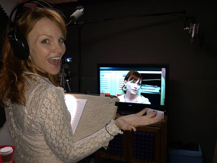 ADR for House of Purgatory The lovely Anne returns to VM Studios for more ADR fun