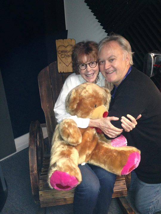 ADR session with Kim Darby for The Story teller.__A message from Kim_ _Hi Patrick,_You are a angel a