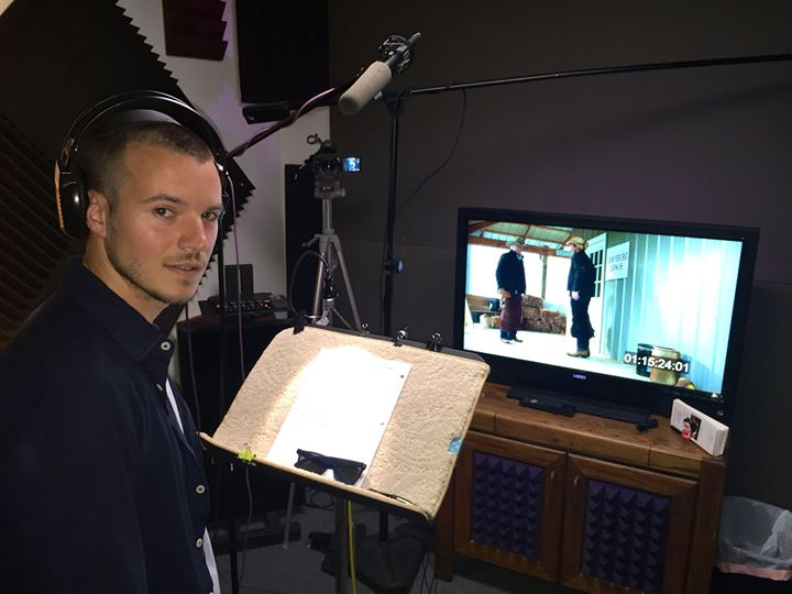 ADR Session for J.jpgL.jpg Ranch.jpg No it's not Orlando Bloom