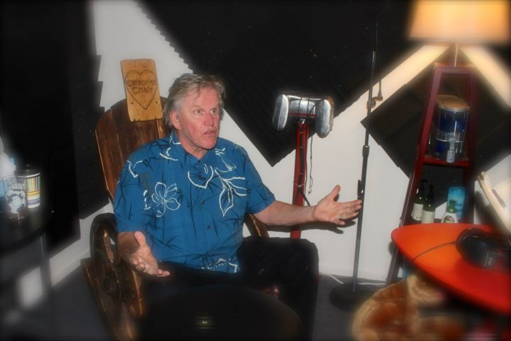 _Here is the picture of Gary in your world famous 'Celebrity Chair'  Gary said it was an honor to si