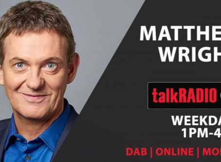 Hilary speaks to Talk Radio's Matthew Wright