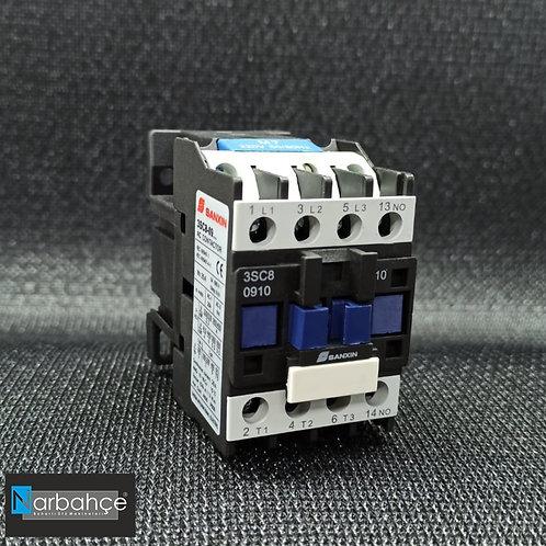 9 Amper Kontaktör