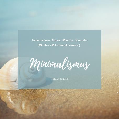 Interview über Marie Kondo (Wohn-Minimalismus) mit t-online-Portal