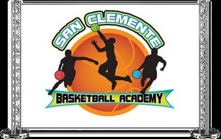 Logo design image for basketball academy