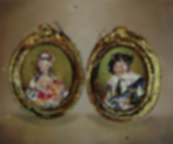 The laughing Cavalier and Madam Du Barry