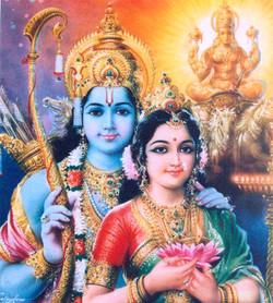 Diwali: the story of Rama and Sita