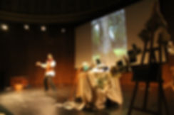 Performing Paint Peerer's Tales by Joseph Coelho at V&A Museum