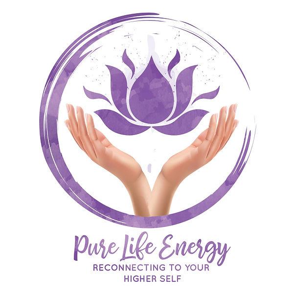 Pure Life Energy Logo - Apple Valley Reiki Services