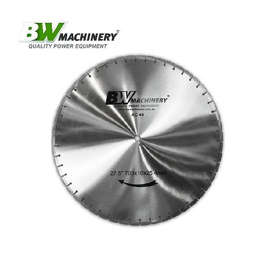 "BWM 27.5""/700mm AC40 Diamond Blade"
