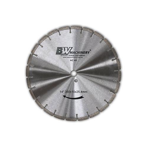 "BWM 14""/350mm AC40 Diamond Blade"