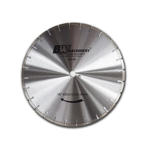 "BWM 16""/400mm AC40 Diamond Blade"