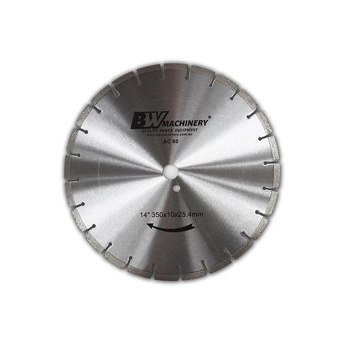 "BWM 14""/350mm AC80 Diamond Blade"