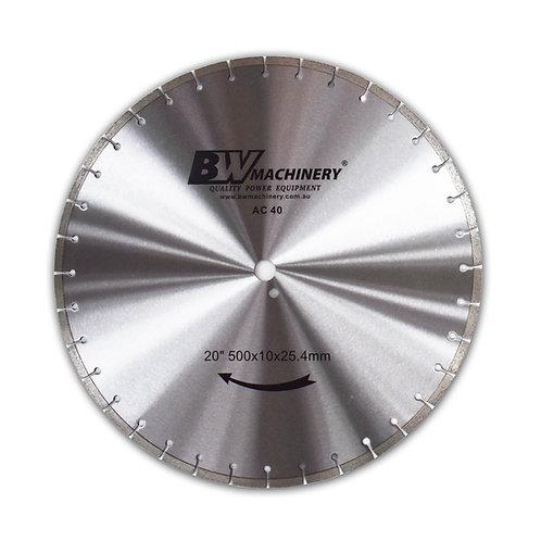 "BWM 20""/508mm AC40 Diamond Blade"