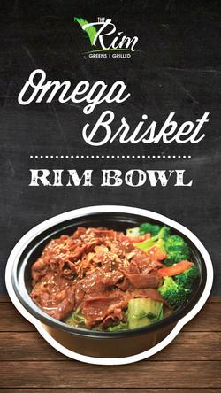 Omega Brisket Rim Bowl