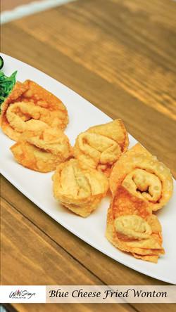 Blue Cheese Fried Wonton