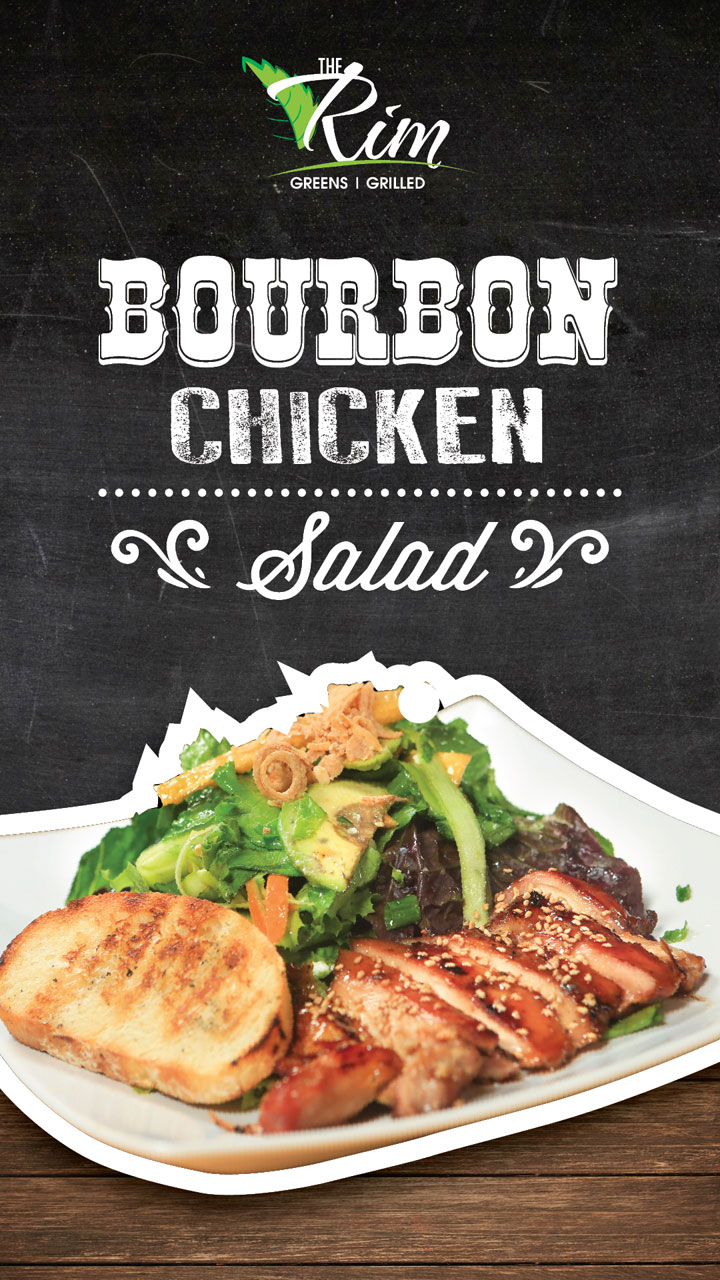 Bourbon Chicken Salad