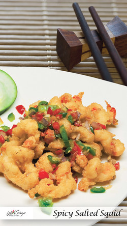 Spicy Salted Squid