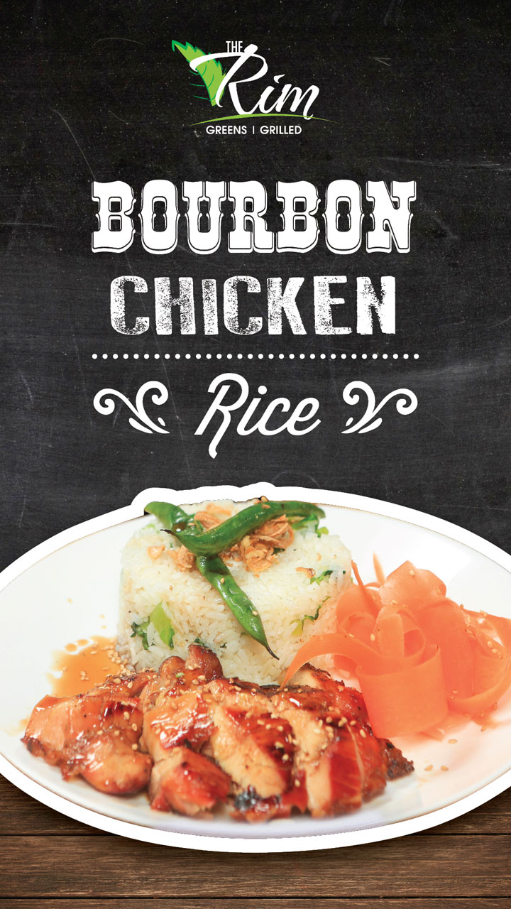 Bourbon Chicken Rice