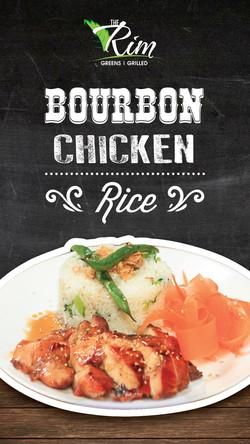 Bourbon Chicken Rice