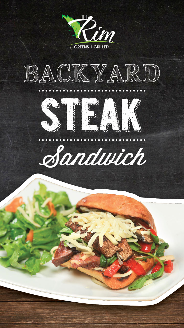 Backyard Steak Sandwich