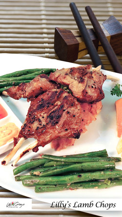 Lilly's Lamb Chops